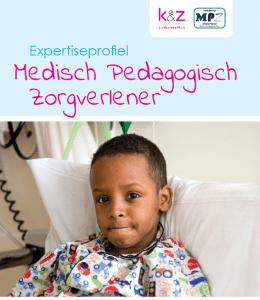 Expertiseprofiel Medisch Pedaggogisch Zorgverlener