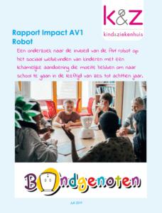 Rapport Impact AV1 robot